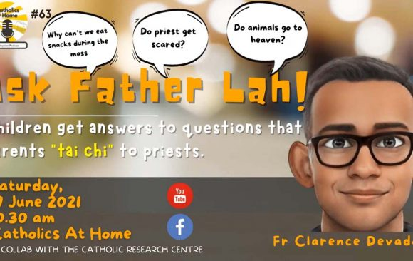 Ask Father Lah! 🙋🏻♂️🙋🏽